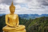 Golden Buddha - Tiger Cave Temple / Thailand