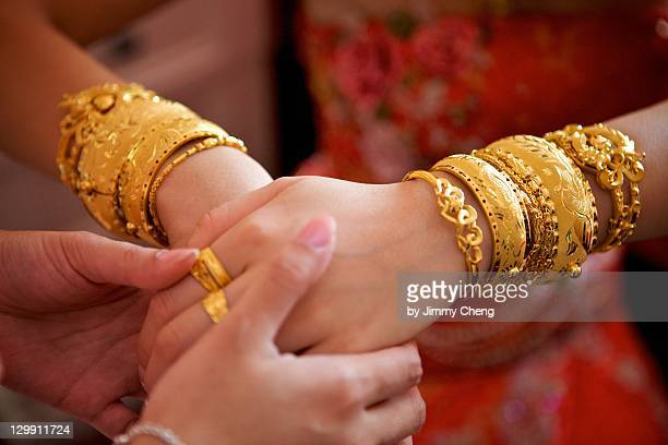 golden celebration - bangle stock pictures, royalty-free photos & images