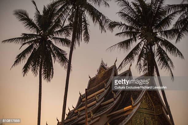 Golden City Temple (Wat Xieng Thong), Luang Prabang, Laos, Southeast Asia