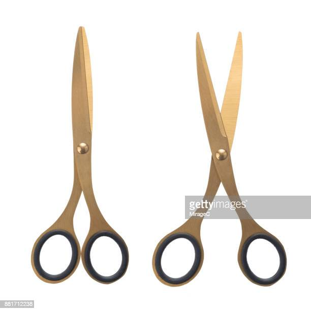 Golden Colored Scissors