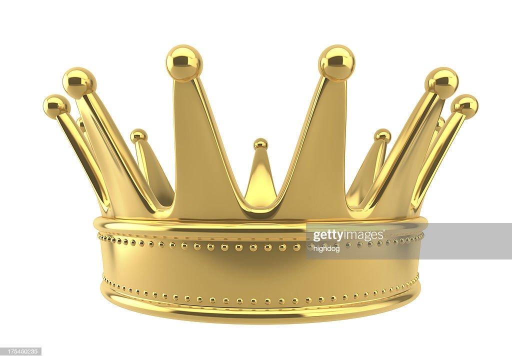 golden crown : Stock Photo