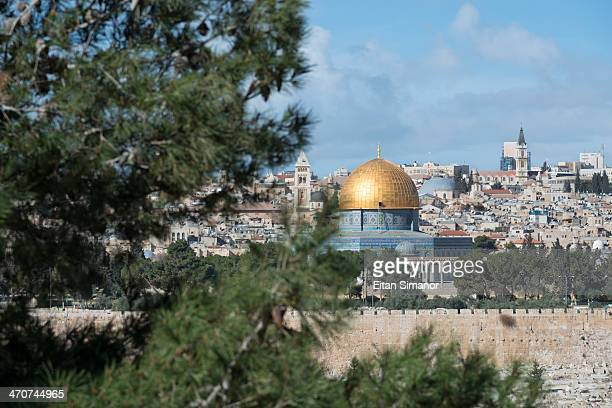 Golden Dome. Jerusalem. Israel.