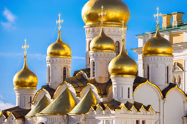 Golden domes of the Russian Church