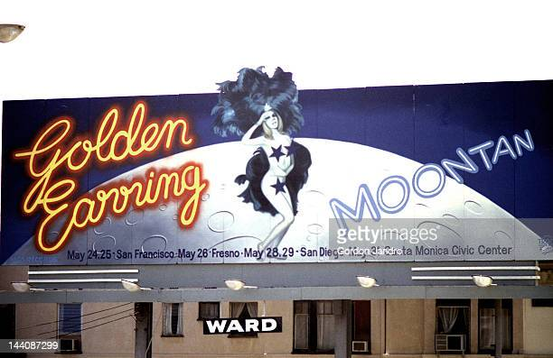 Golden Earring Billboard Sunset Blvd 1974 Scanned from 35mm negative