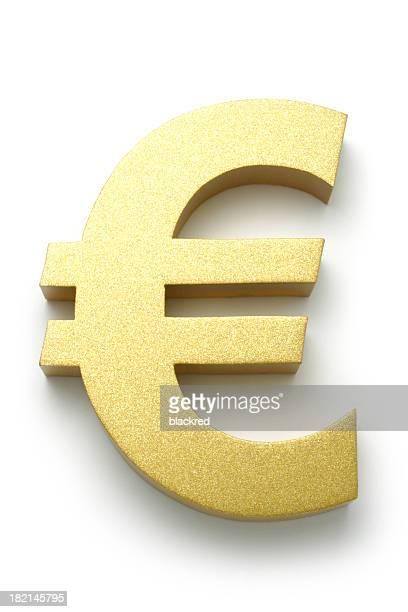 Golden Euro-Symbol