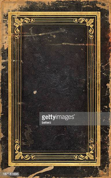 golden framed book cover