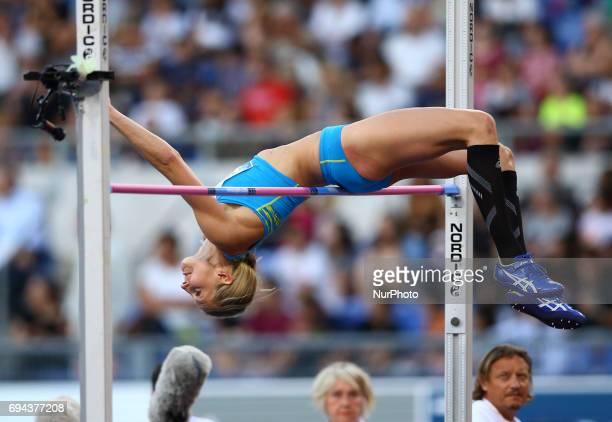 Golden Gala Iaaf Diamond League Rome 2017 Sofie Skoog competes in High Jump Women at Olimpico Stadium in Rome Italy on June 8 2017
