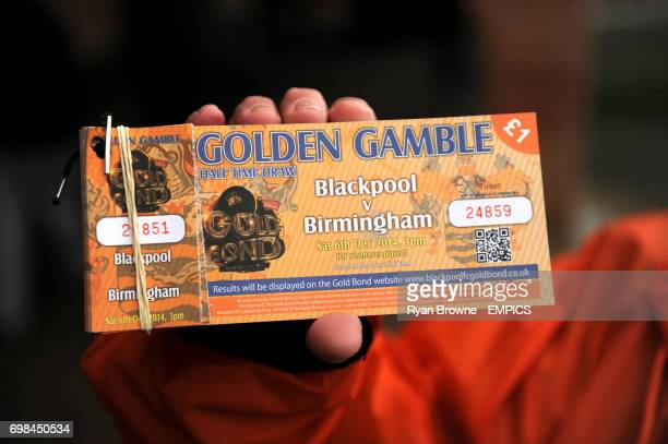 Golden Gamble ticket