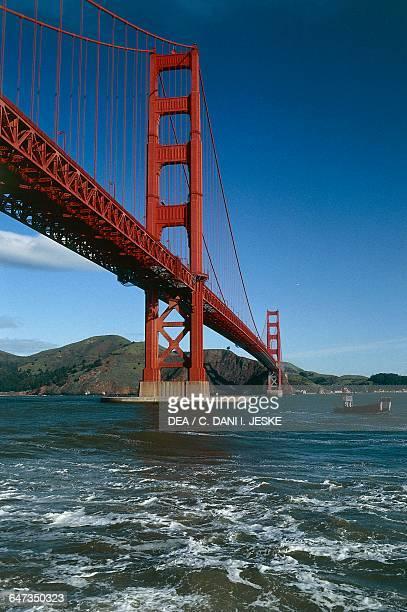 Golden Gate Bridge 19331937 by Joseph Baermann Strauss California United States of America