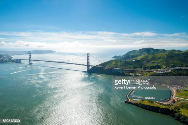 Golden Gate Bridge and Horseshoe Bay