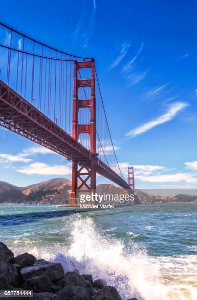 Golden Gate Bridge at Fort Point