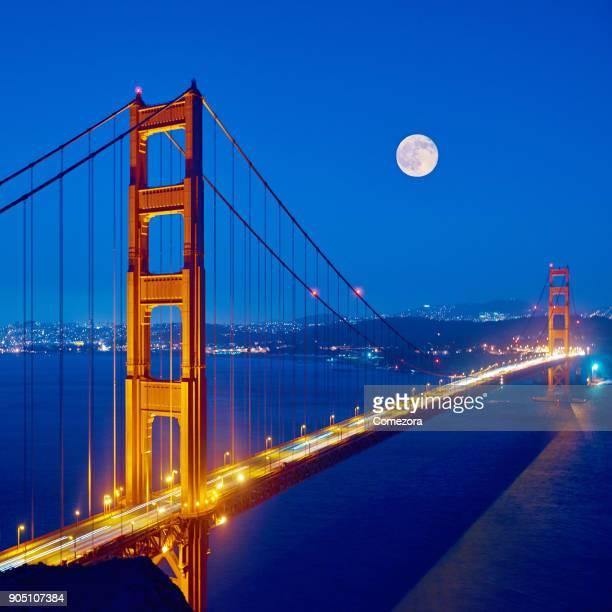 Golden Gate Bridge at Night, San Francisco