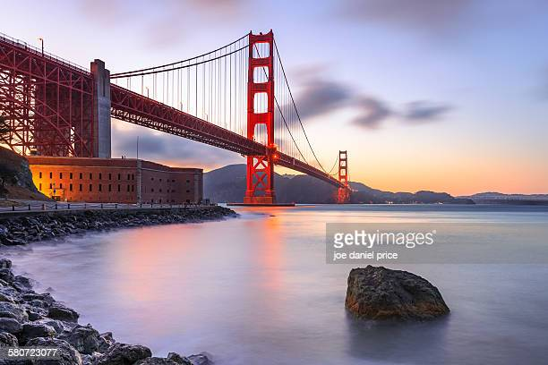 Golden Gate Bridge, Fort Point, San Francisco, USA
