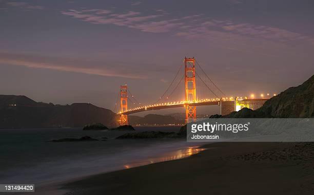 golden gate bridge of san francisco - jcbonassin stock pictures, royalty-free photos & images
