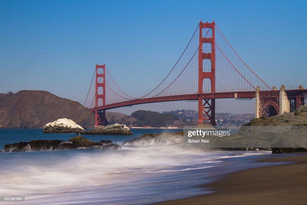 Golden Gate Bridge : Foto de stock