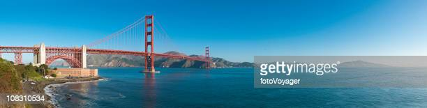 Golden Gate Bridge und San Francisco Bay Fort Point Marin, Kalifornien