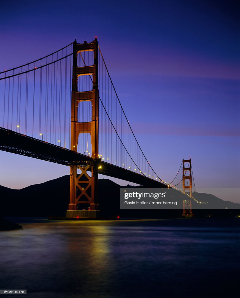 Golden Gate Bridge, San Francisco, California, USA, North America : Foto de stock