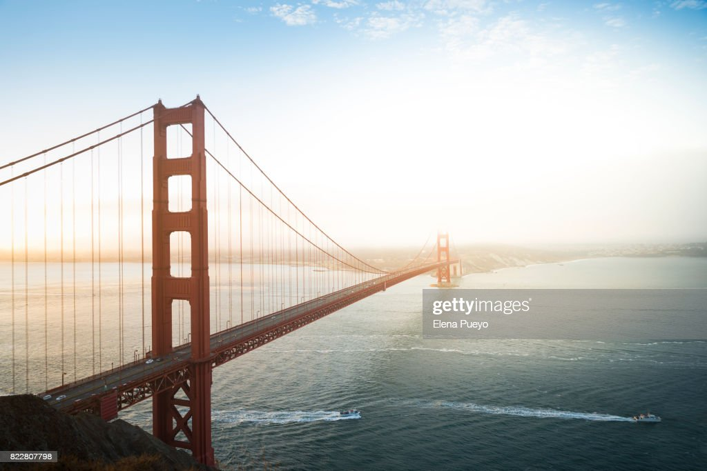Golden Gate Bridge, San Francisco, California, USA : Foto stock