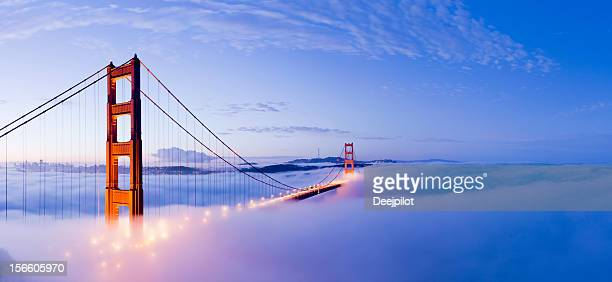 golden gate bridge san francisco usa - san francisco california stock photos and pictures