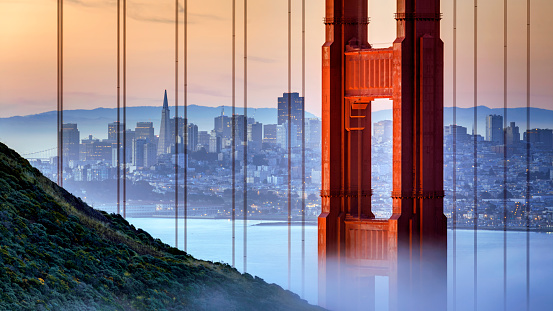 Golden Gate Bridge, San Francisco, USA - gettyimageskorea