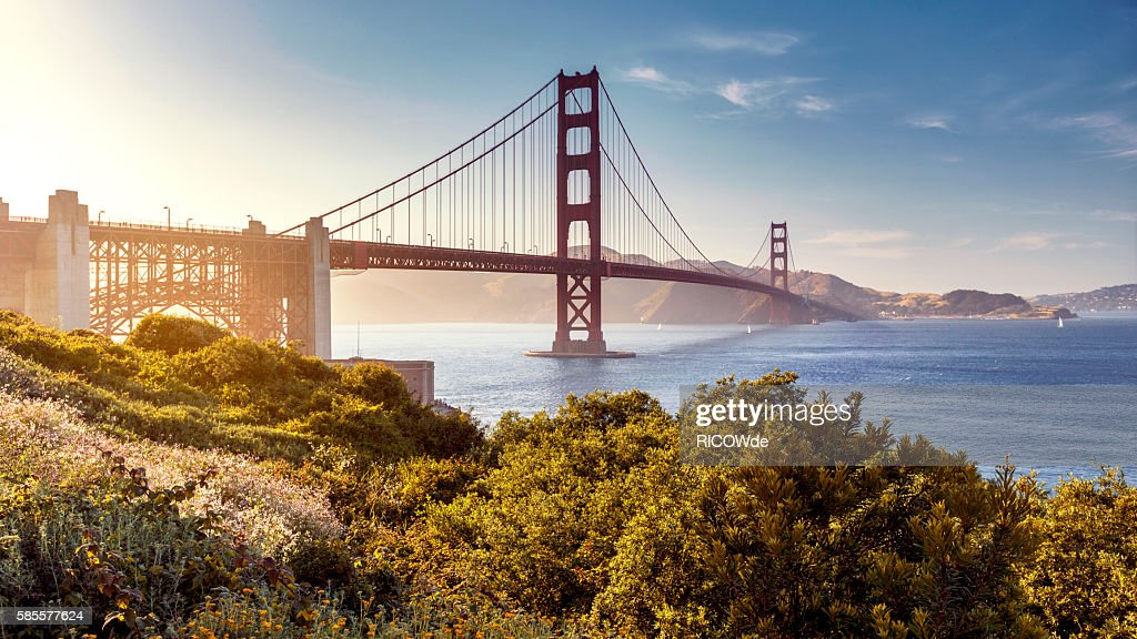 Golden Gate Bridge, San Francisco, USA : Stock Photo