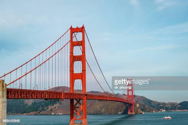 golden gate bridge, san fransisco usa - golden gate bridge stock pictures, royalty-free photos & images
