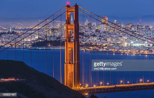 Golden gate bridge: TransAmerica Needle