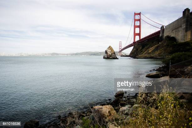 Golden Gate Bridge with Copy Space