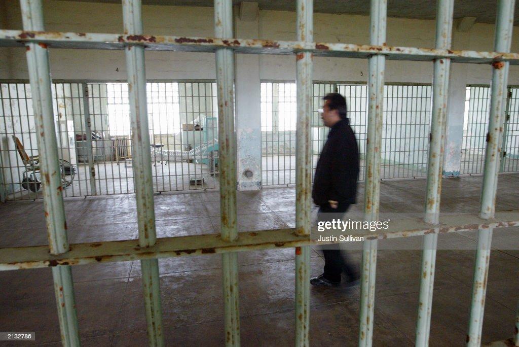 National Park Service Sells Pieces Of Alcatraz Prison : News Photo
