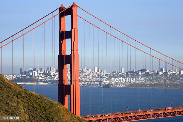 Golden Gate with City - Horizontal