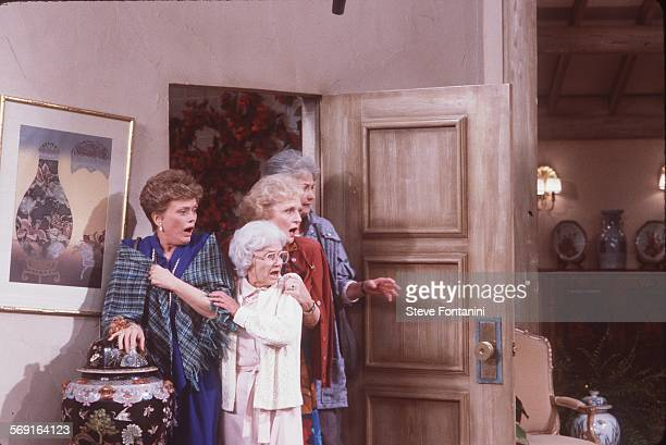 Golden Girls; Roe McClanahan, Estelle Getty, Betty White, and Beatrice Arthur.