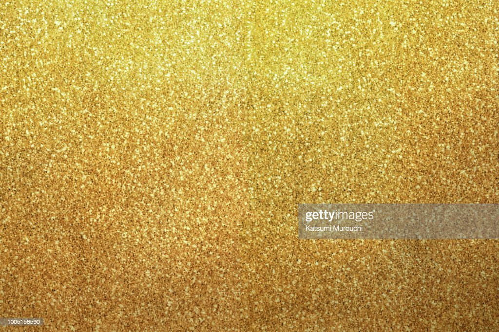 Golden glitter texture background : Stock Photo