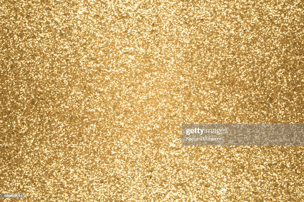Golden glitter textures background : Stock Photo