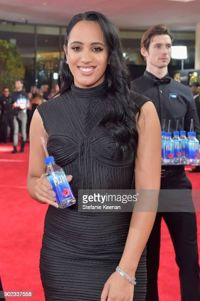 Golden Globe Ambassador 2018 Golden Globe Ambassador Simone Garcia Johnson attends The 75th Annual Golden Globe Awards at The Beverly Hilton Hotel on...
