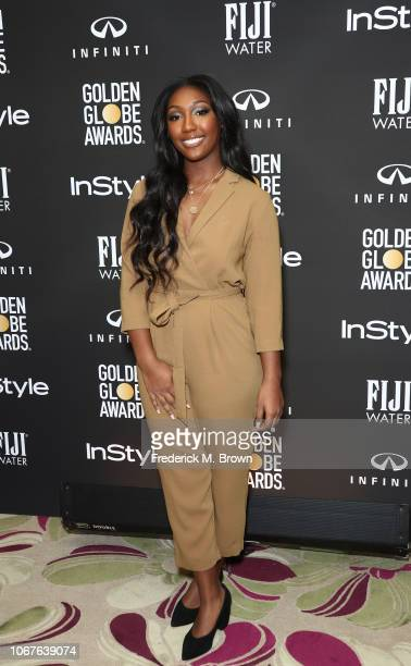 Golden Globe Ambassador and actor Idris Elba's daughter Isan Elba attends The Hollywood Foreign Press Association and InStyle 2019 Golden Globe...