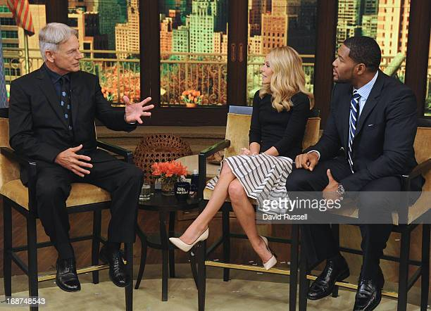 "MICHAEL 5/14/13 Golden Globenominated actor MARK HARMON talks about the series ""NCIS""on LIVE with Kelly and Michael distributed by DisneyWalt Disney..."