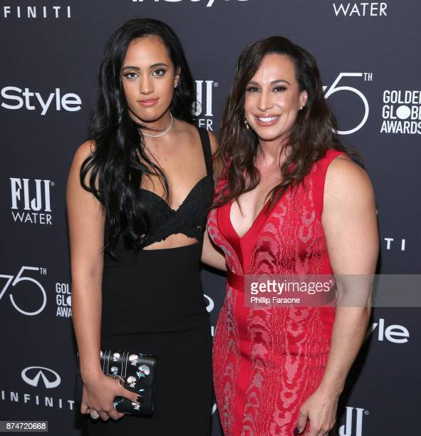 Golden Globes Ambassador Simone Garcia Johnson and Producer Dany Garcia attend the HFPA's and InStyle's Celebration of the 2018 Golden Globe Awards...