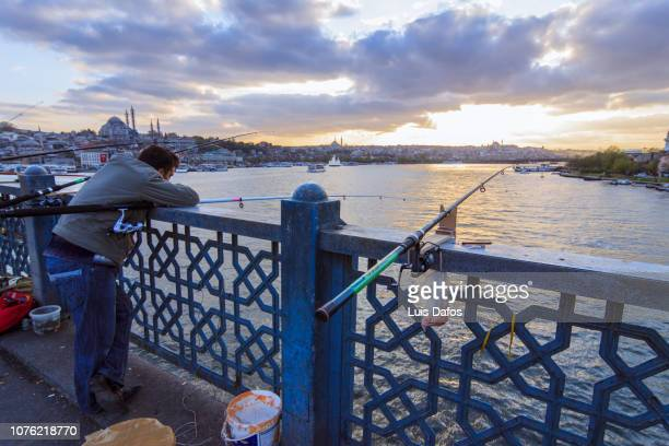 Golden Horn, fisherman