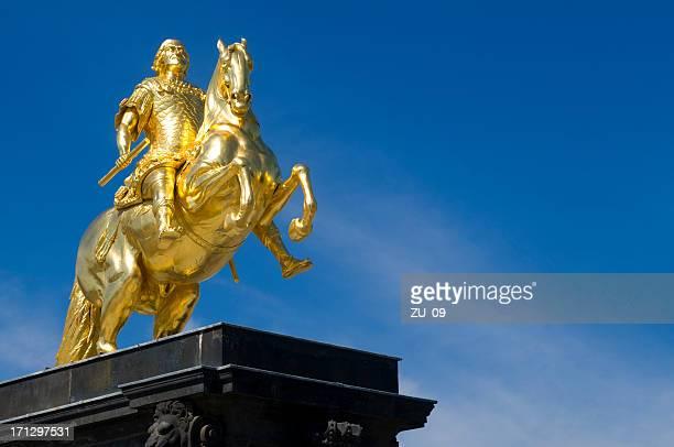 """Golden'Headless Horseman""""."""