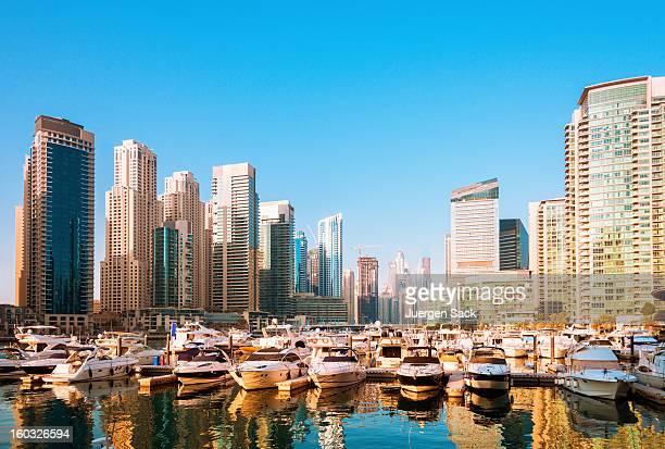 Golden Hour in Dubai Marina
