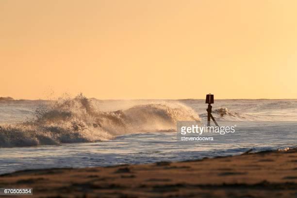 Golden Hour on the Norfolk Coast.