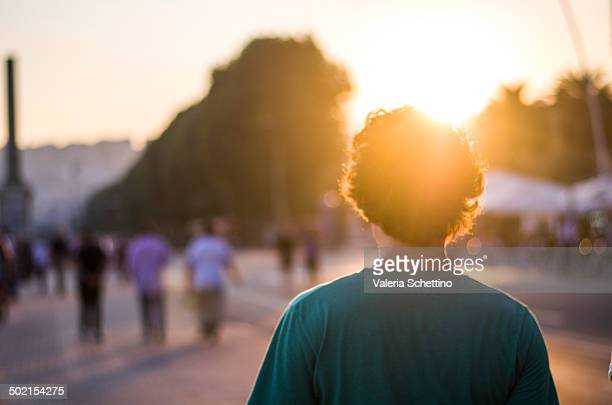 golden hour street - golden hour stock pictures, royalty-free photos & images