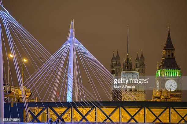 Golden Jubilee Bridge and Big Ben