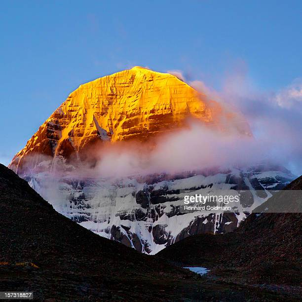 golden kailash - mt kailash stock pictures, royalty-free photos & images