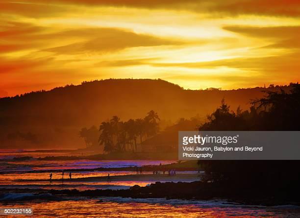 Golden Kauai Sunset