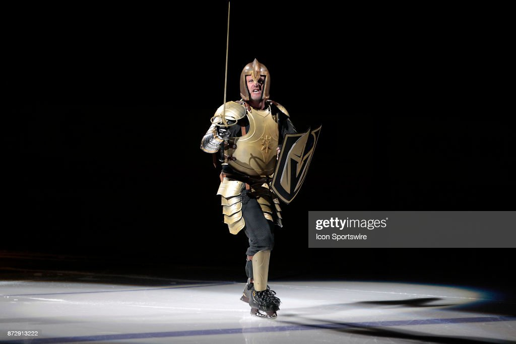 NHL: NOV 10 Jets at Golden Knights : News Photo