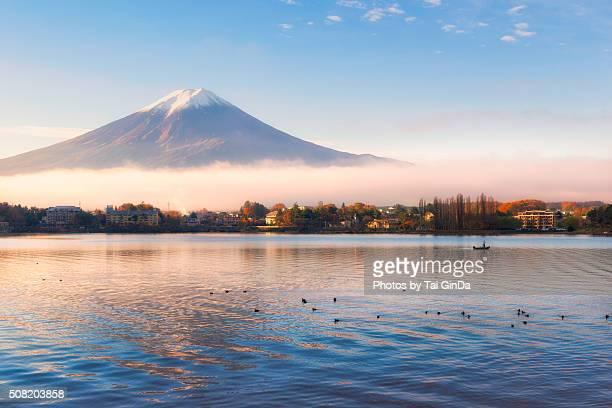 Golden Light Mt. Fuji