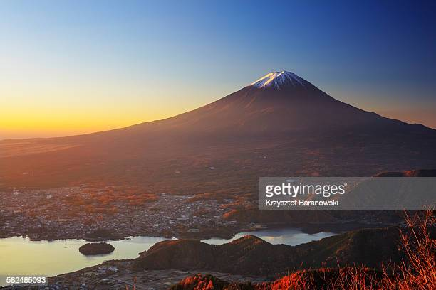Golden Light Mt Fuji