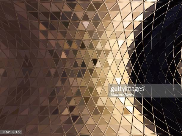 golden lights mosaic. - luxury stock pictures, royalty-free photos & images
