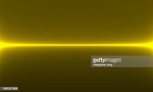 golden line by using computer art design - laser stock pictures, royalty-free photos & images